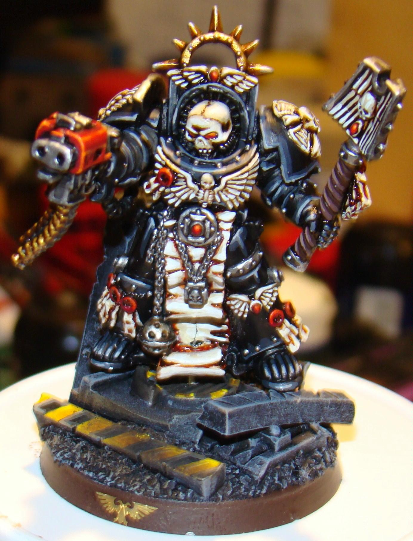 Chaplain, Space Marines, Terminator Armor