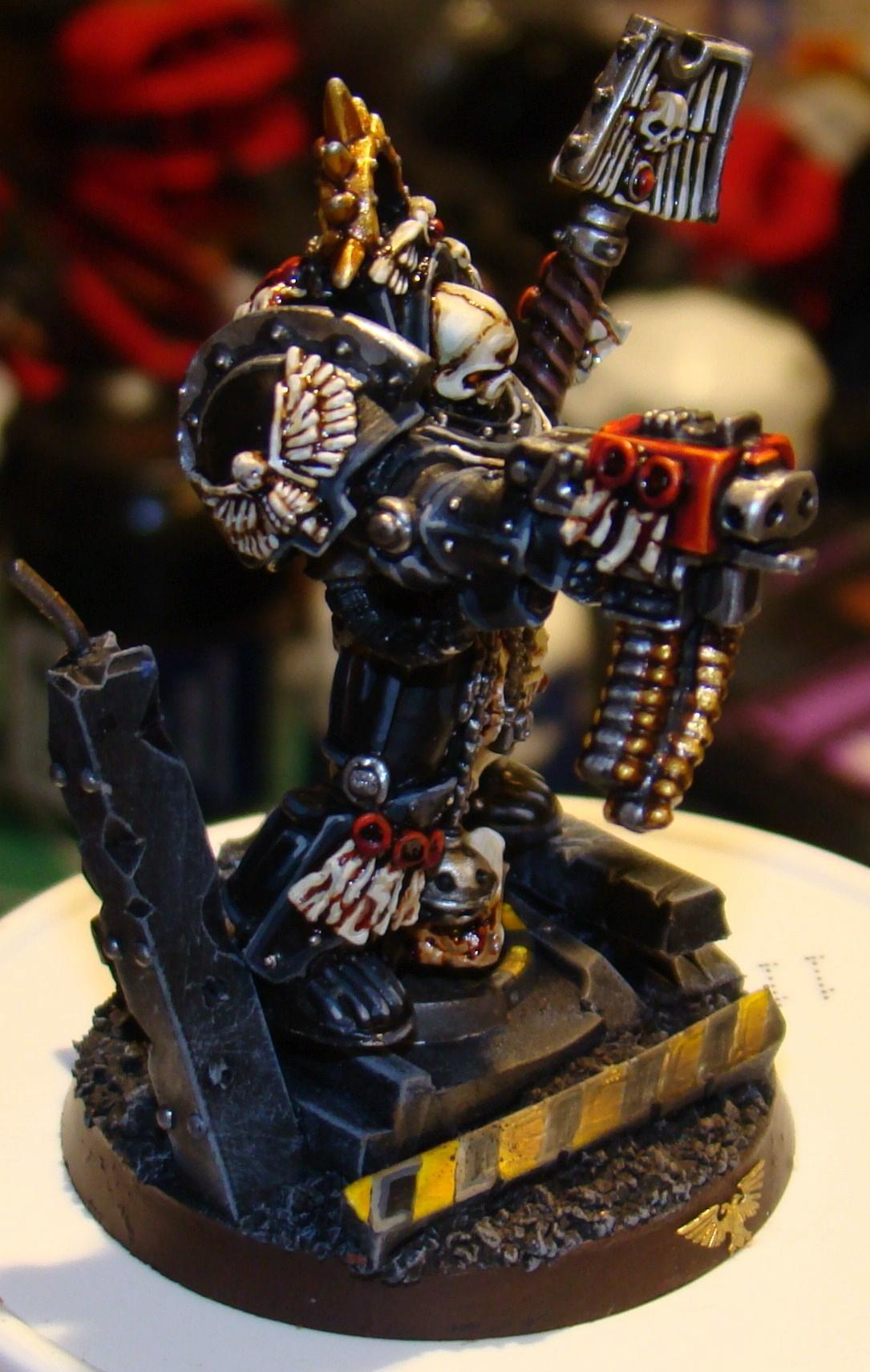 Chaplain, Space Marines, Terminator Armor, Terminator Chaplain, Warhammer 40,000