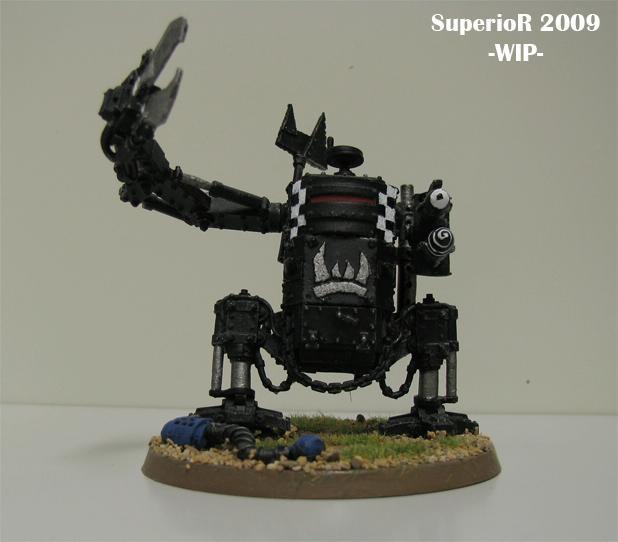 Killa Kan, Orks, Superior, Work In Progress