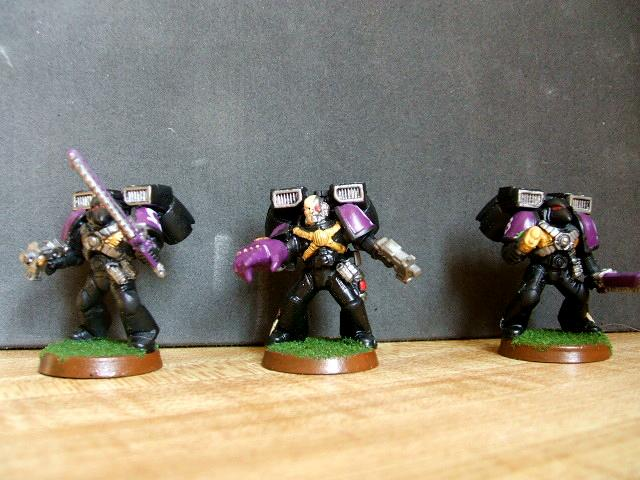Assault Squad, Space Marines, Warhammer 40,000