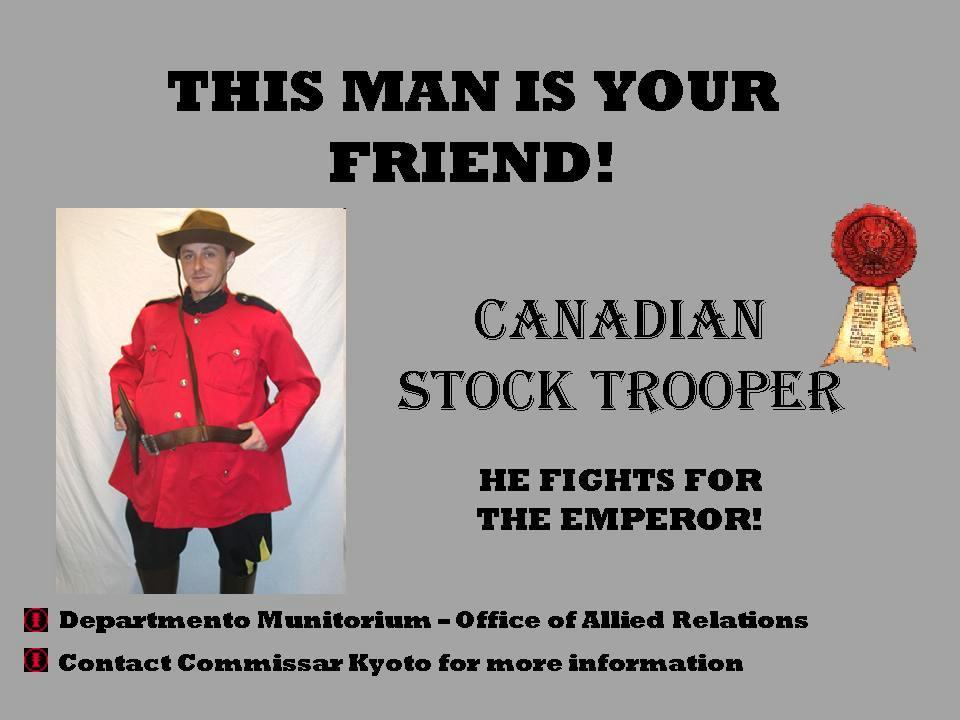 Cadians, Canada, Humor, Poster