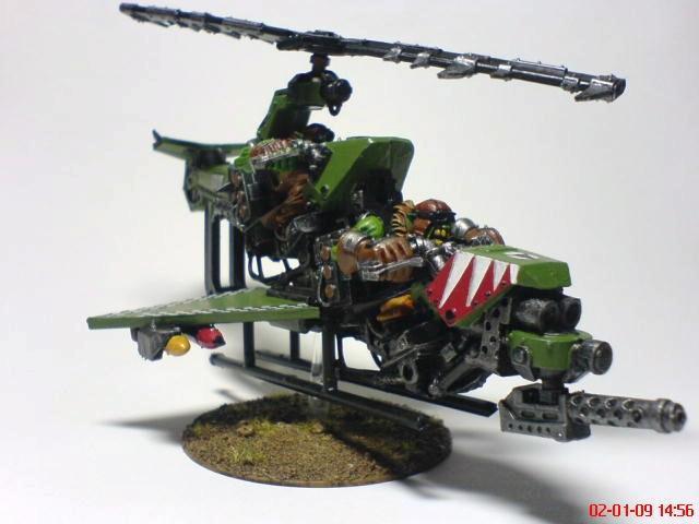 Deffkopta, Oks, Orks, Warhammer 40,000