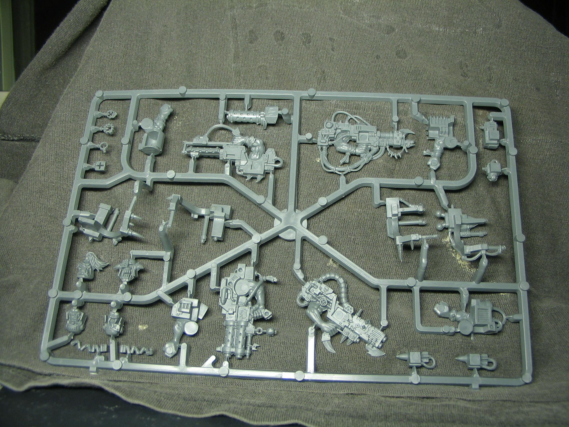 Elite, Games Workshop, Orks, Sprue, Warhammer 40,000