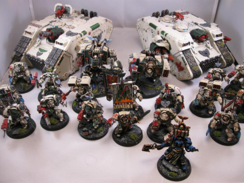 Army, Dark Angels, Deathwing, Space Marines, Warhammer 40,000