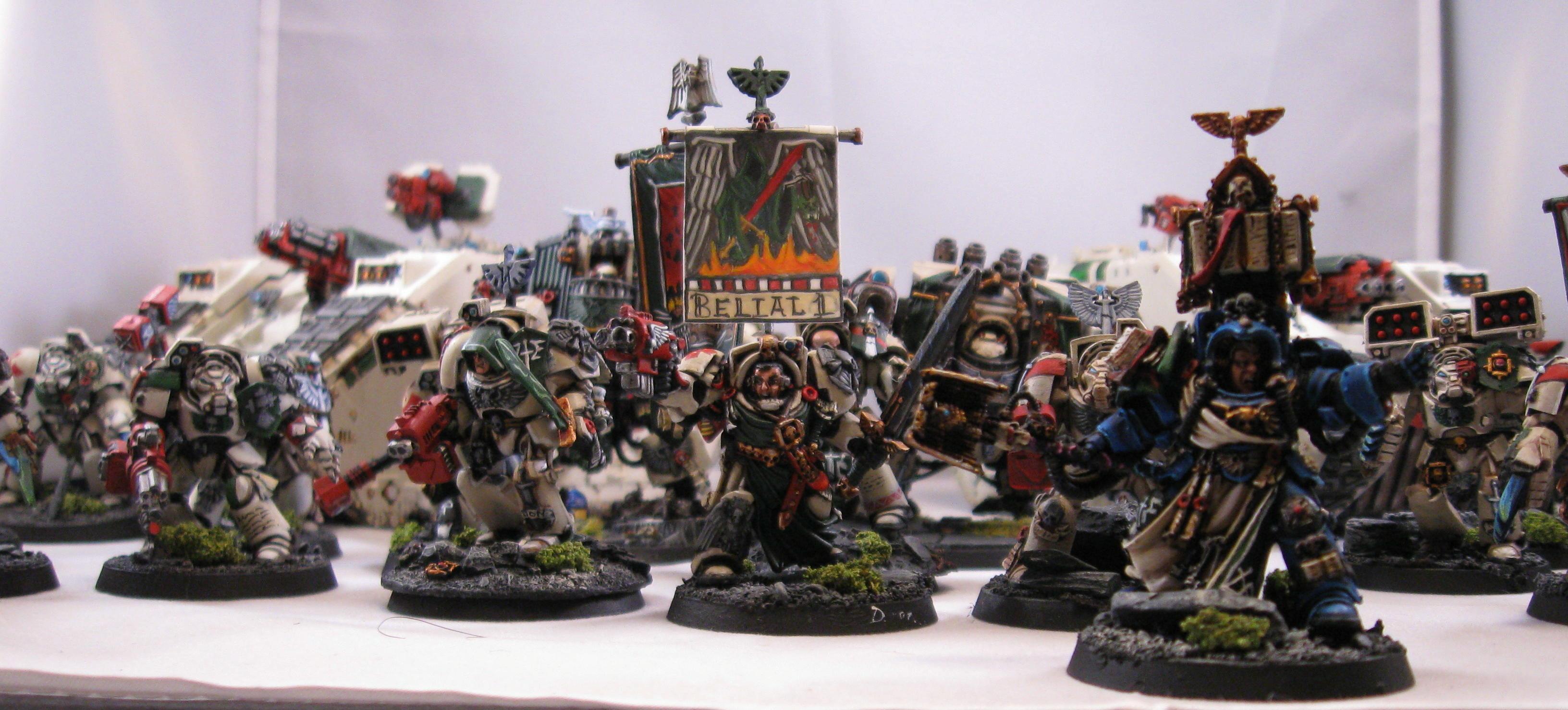 Army, Banner, Dark Angels, Deathwing, Space Marines, Terminator Armor, Warhammer 40,000