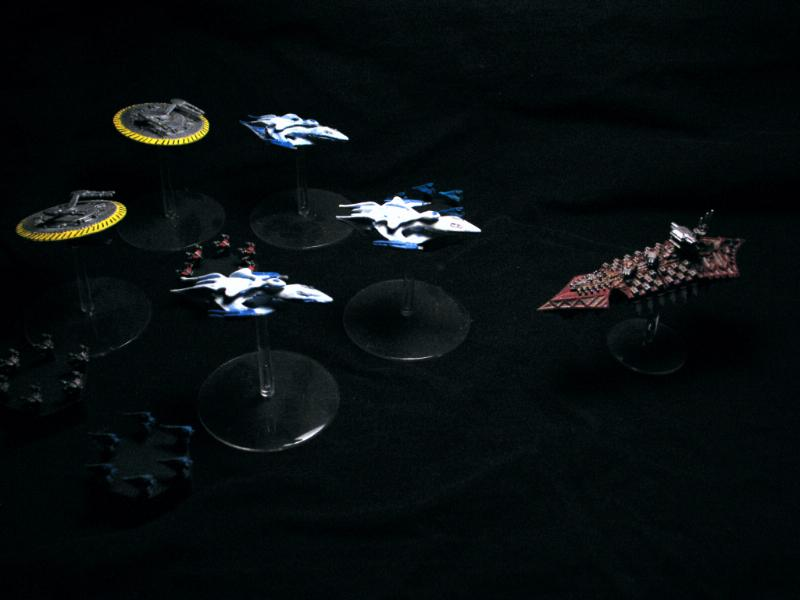 A Call To Arms, Babylon 5, Battlefleet Gothic, Space Combat
