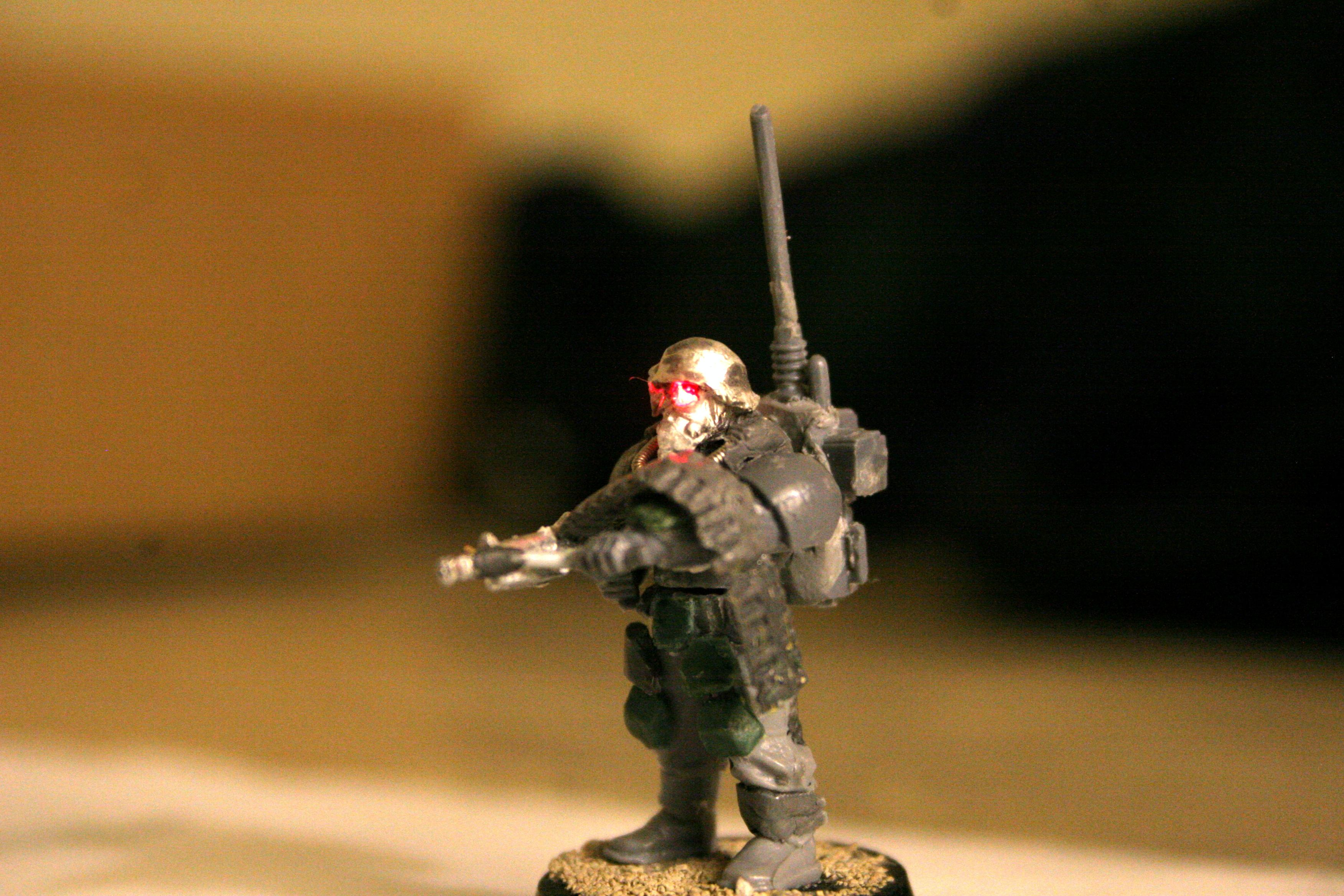 Autogun, Cadians, Imperial Guard, Jin-roh, LED, Lighting, Pig Iron, Storm Troopers, Stormtrooper, Wolf Brigade