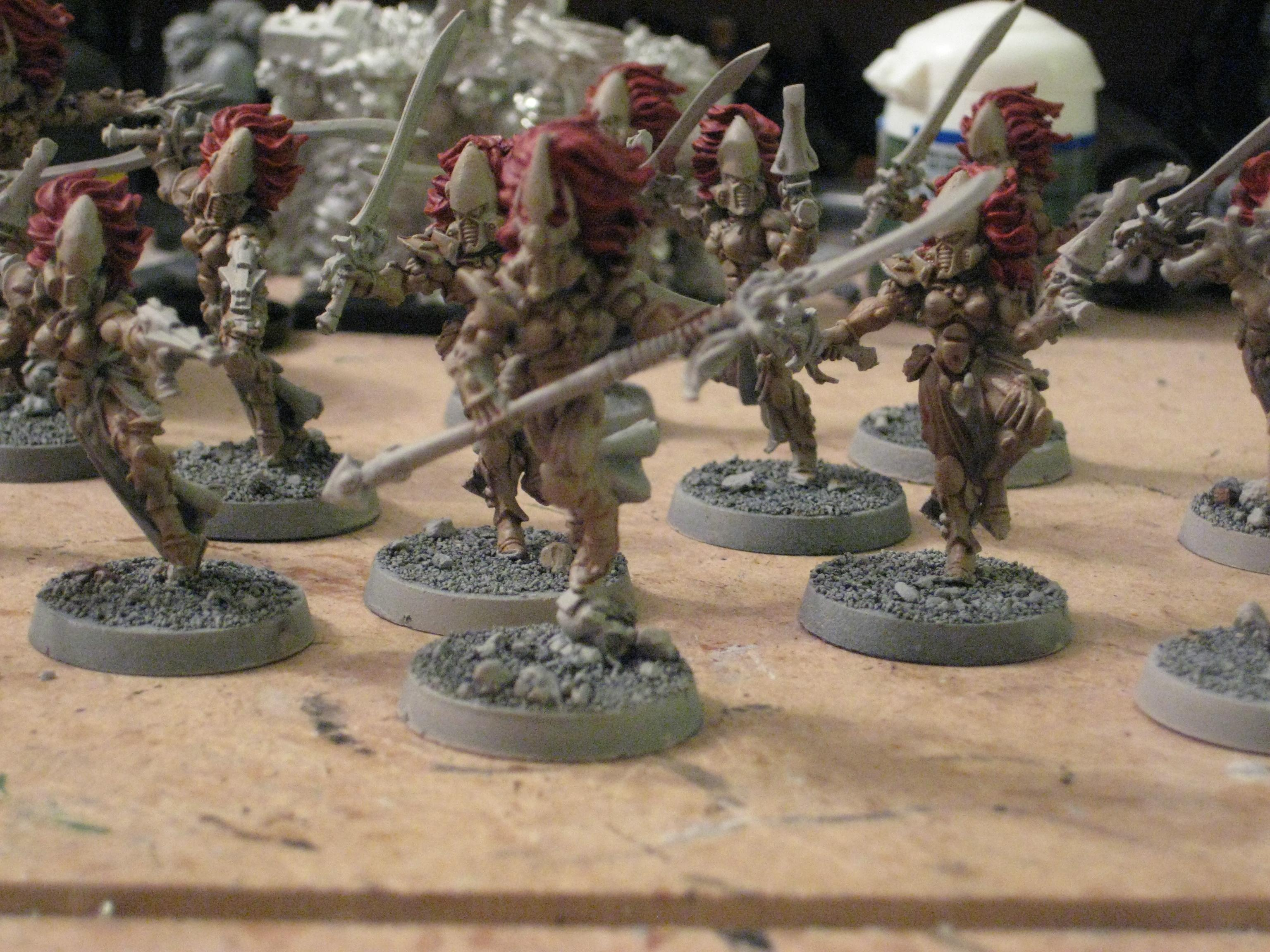 Banshees, Eldar, Warhammer 40,000, Work In Progress