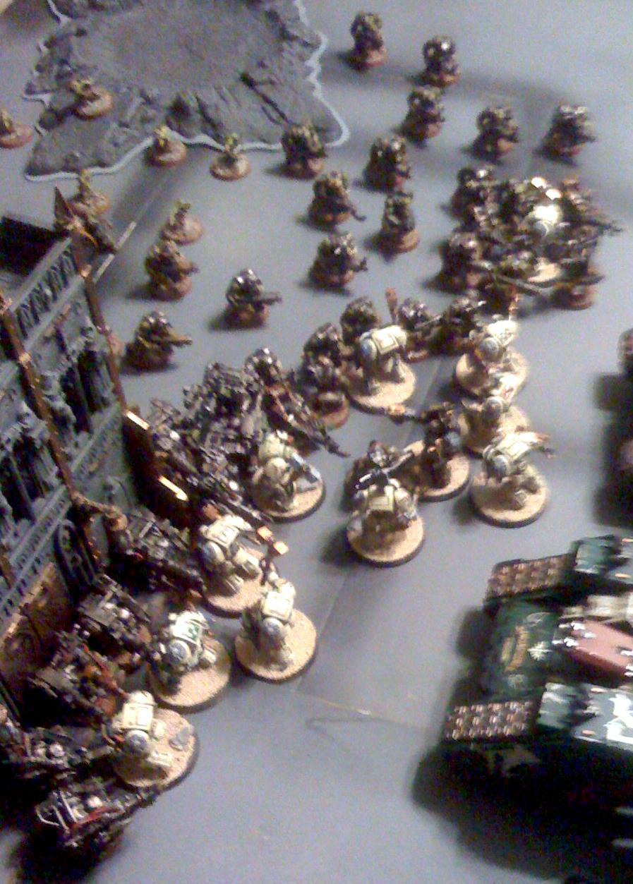 Battle Report, Blurred Photo