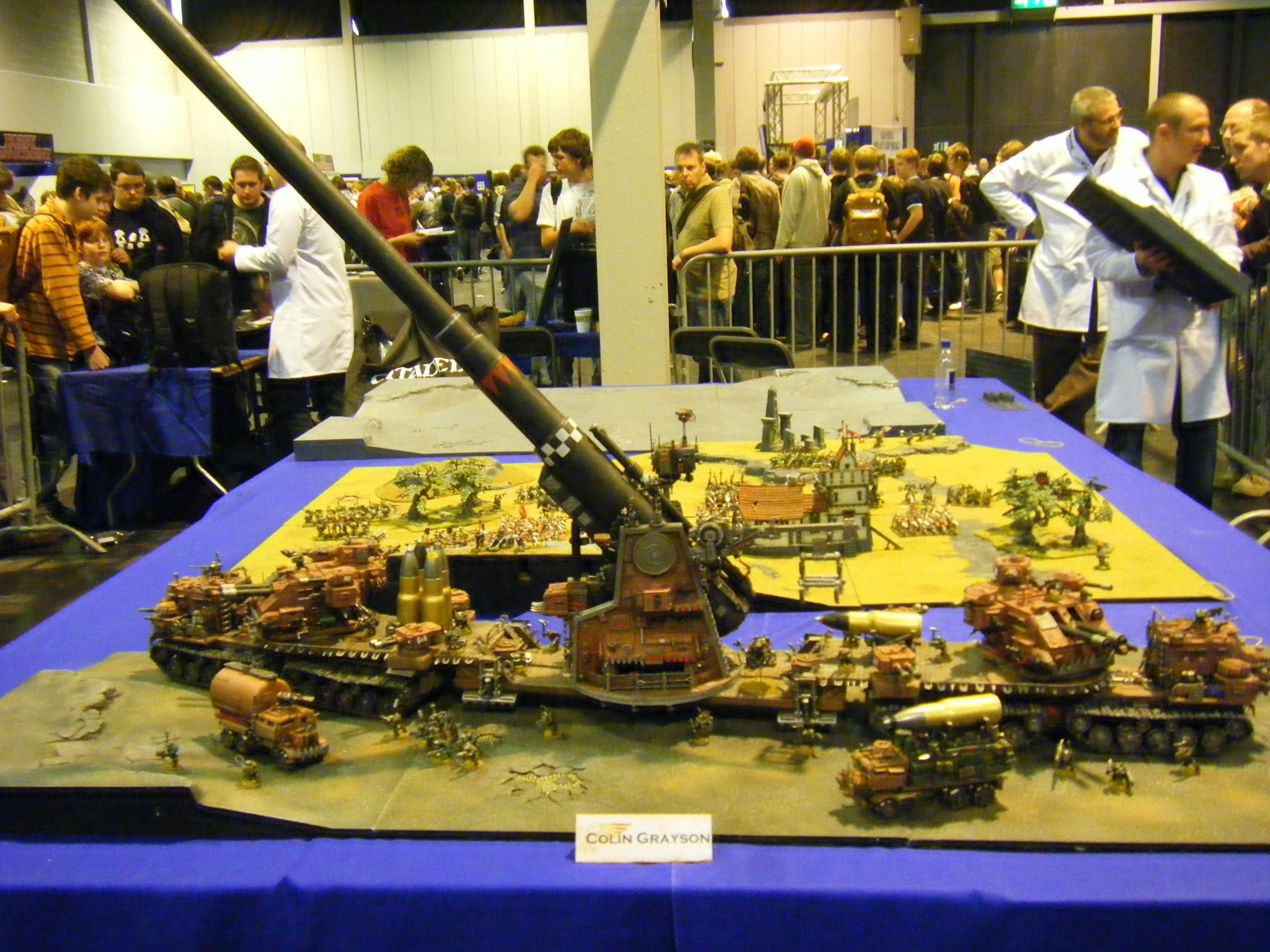 Artillery, Cannon, Games Day, Orks, Super-heavy
