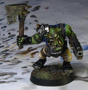 Assault On Black Reach, Ork Boy, Orks, Warhammer 40,000