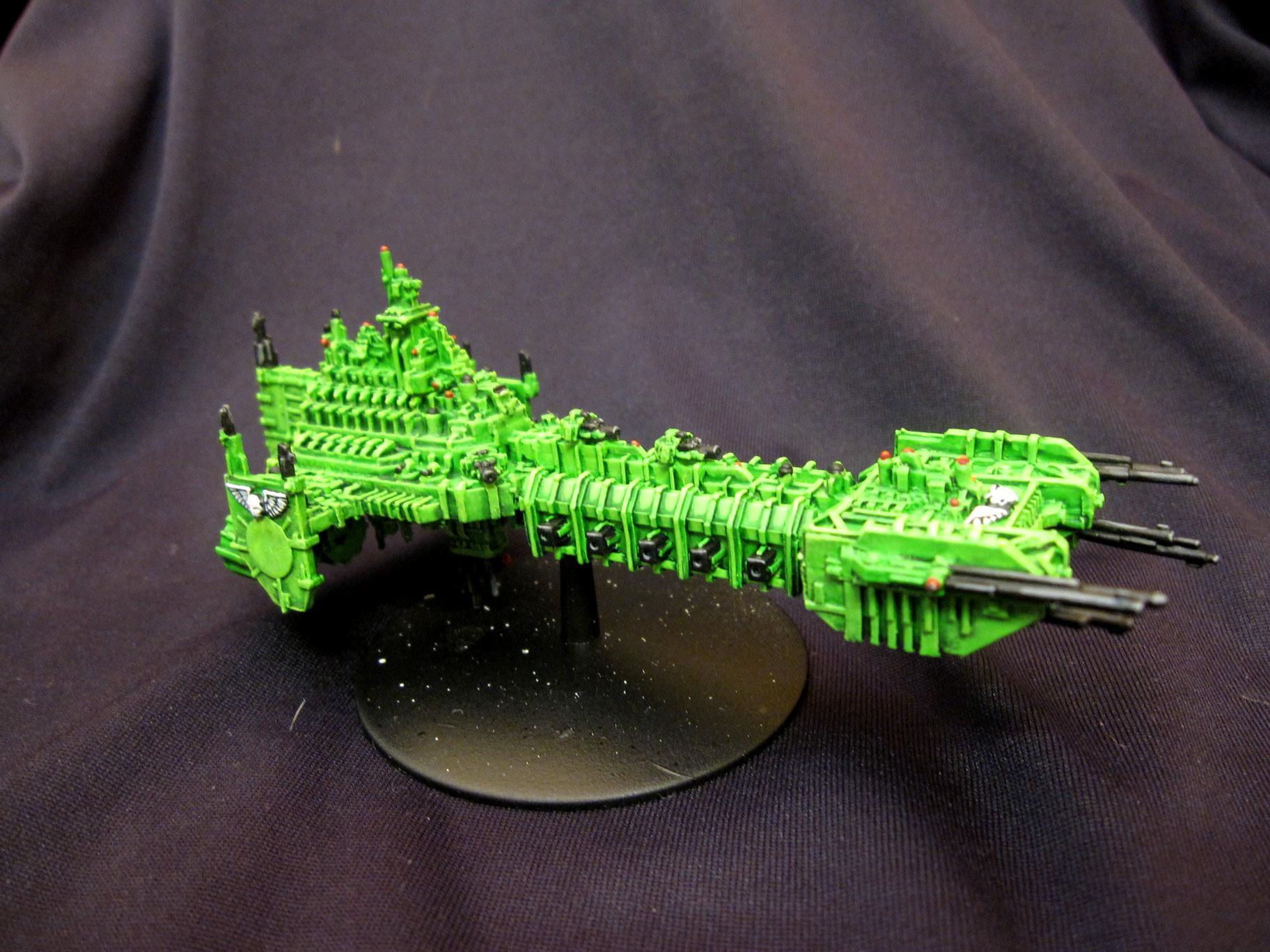 Badab War, Battle Barge, Battlefleet Gothic, Sons Of Medusa, Space Marines