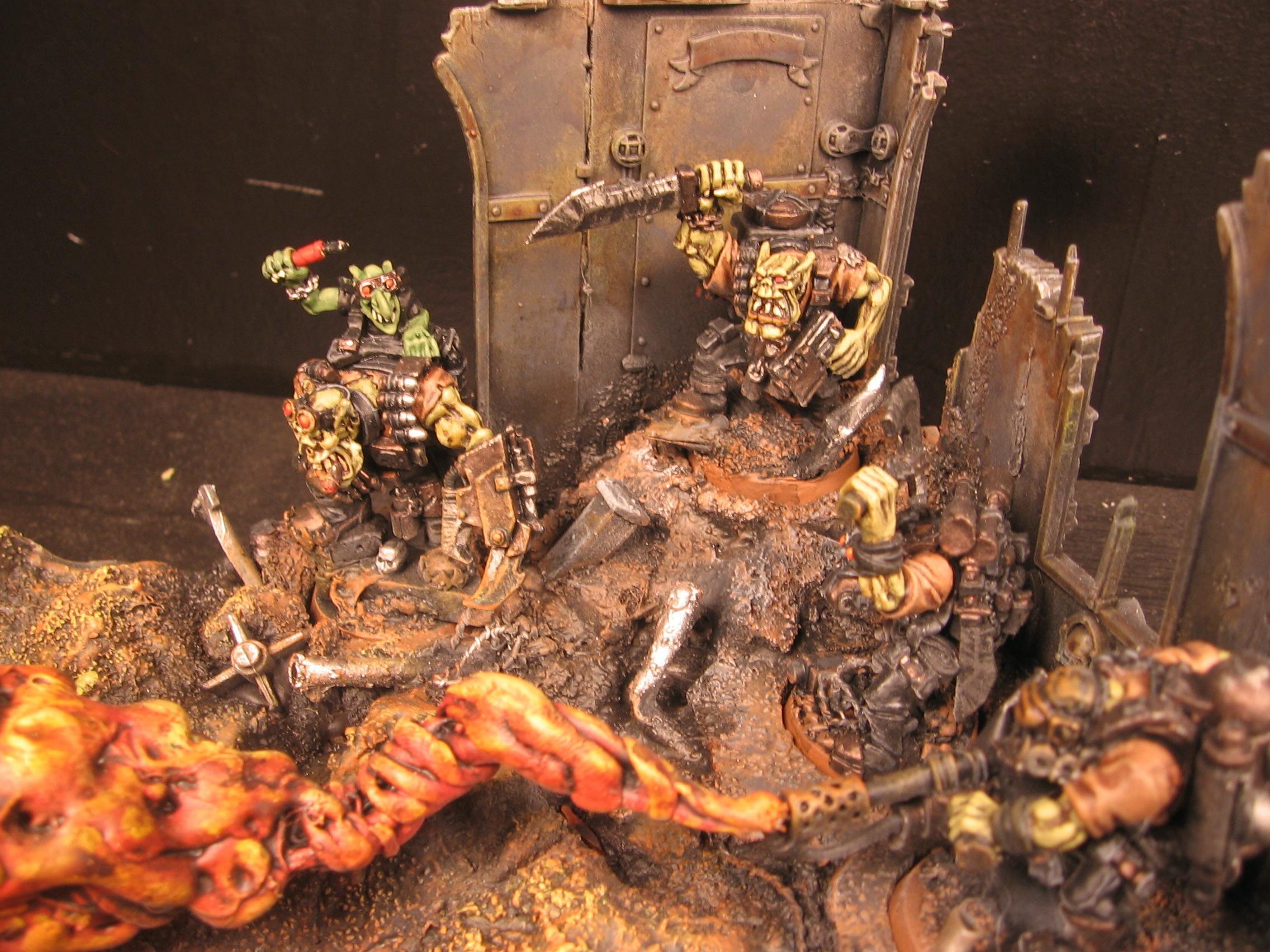 Burna Boyz, Fire, Flamer, Kommandos, Orks, Warhammer 40,000