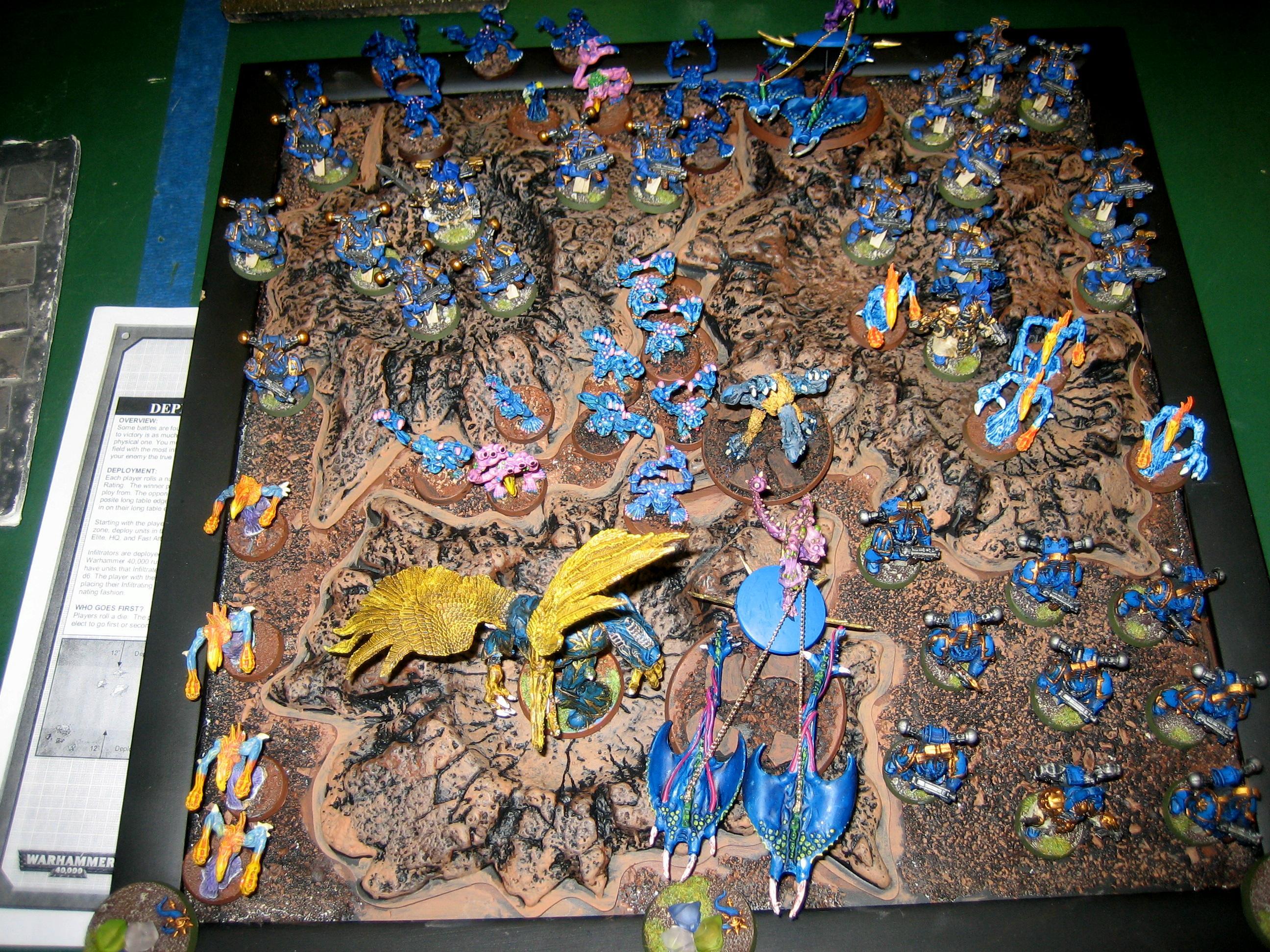 Army, Chaos, Daemons, Display, Warhammer 40,000