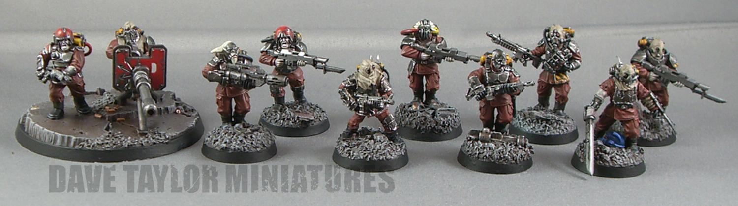 Blood Pact, Chaos, Conversion, Forge World, Imperial Guard, Lost And The Damned, Renegades, Squad, Traitor, Traitor Guard
