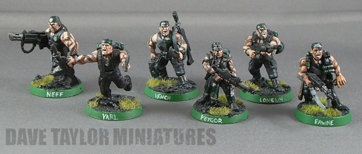 Catachan, Gaunts Ghosts, Imperial Guard, Tanith
