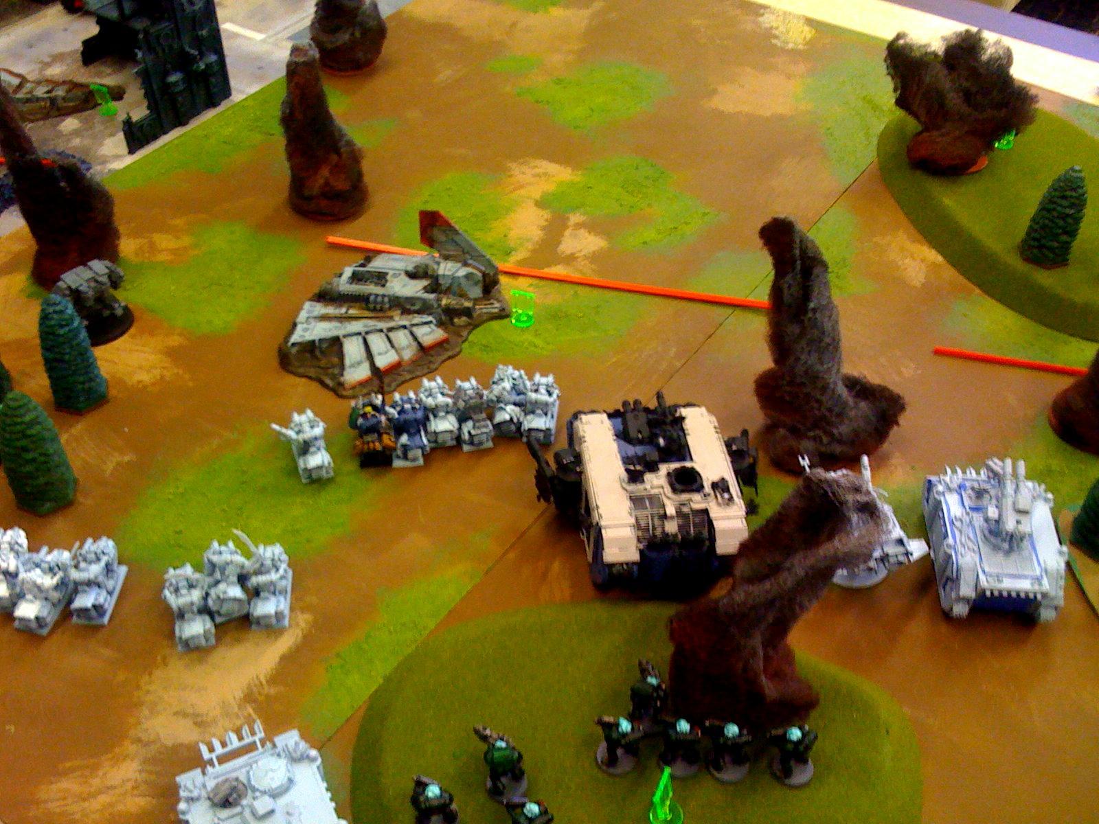 Apocalypse, Battle Report