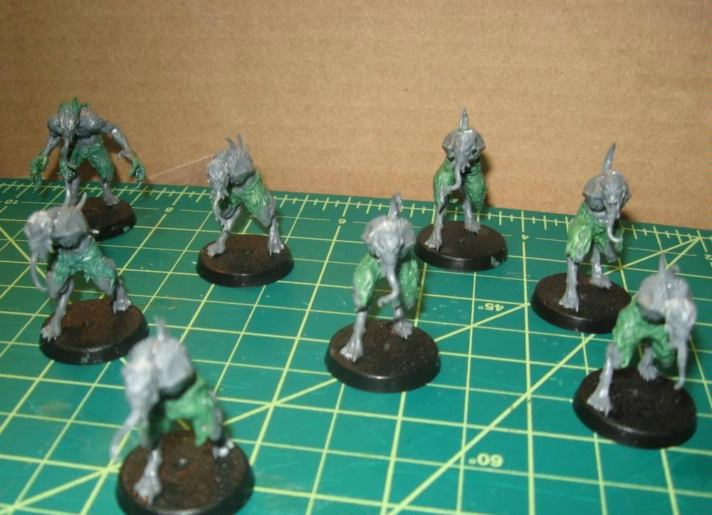 Bloodletters, Chaos Daemons, Conversion, Daemons, Work In Progress