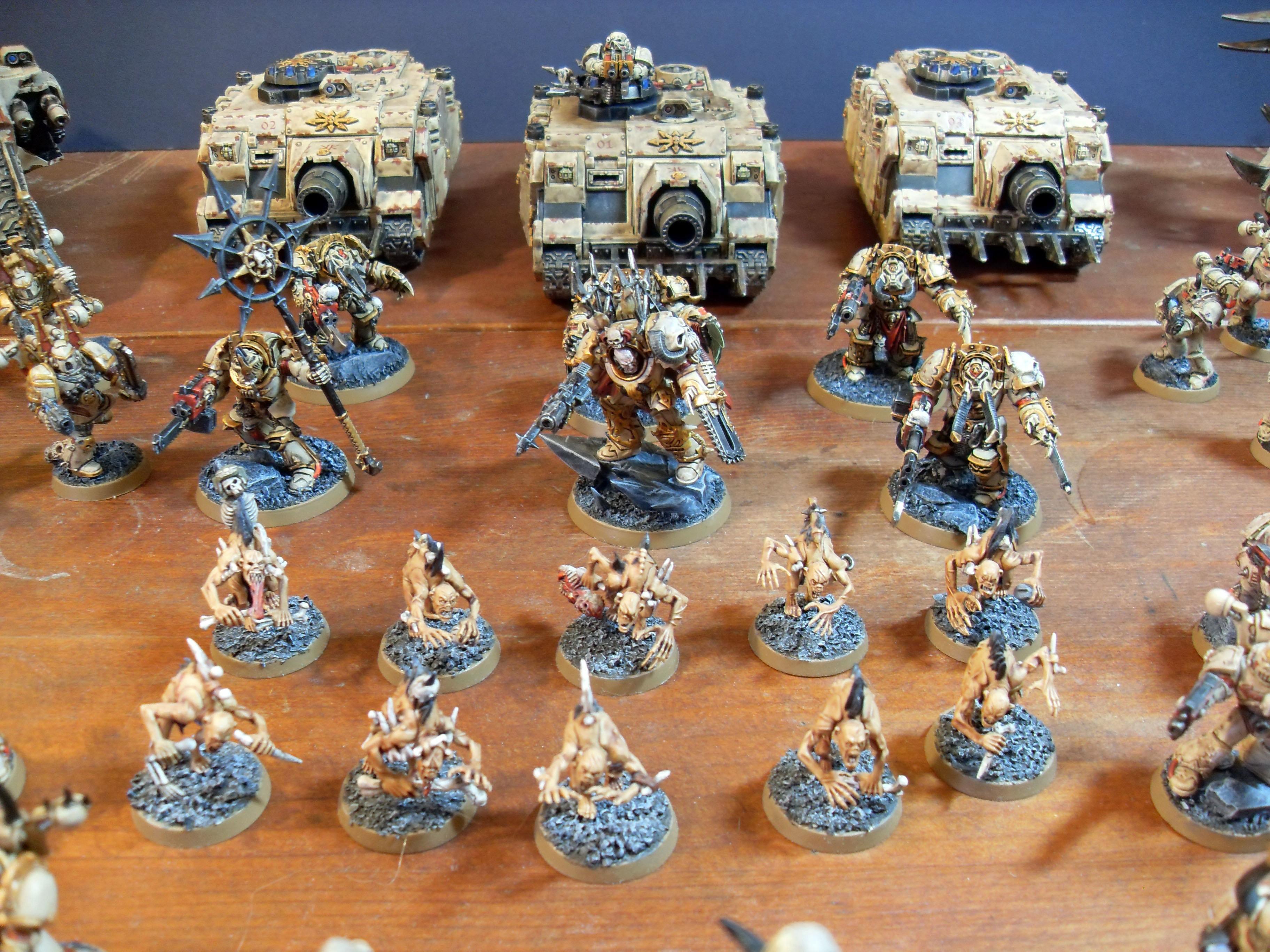 Army, Chaos, Chaos Space Marines, Warhammer 40,000