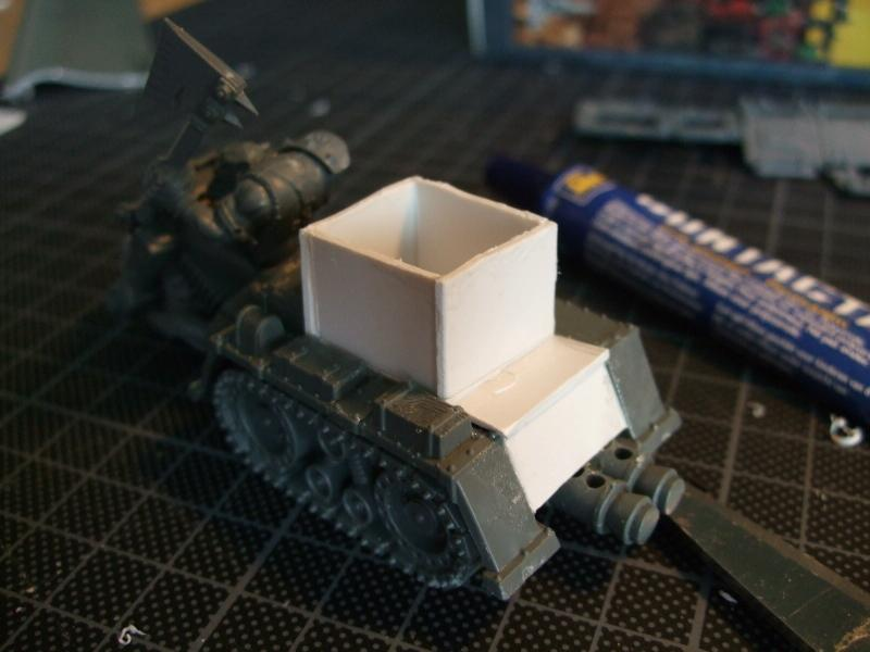 Turret base details