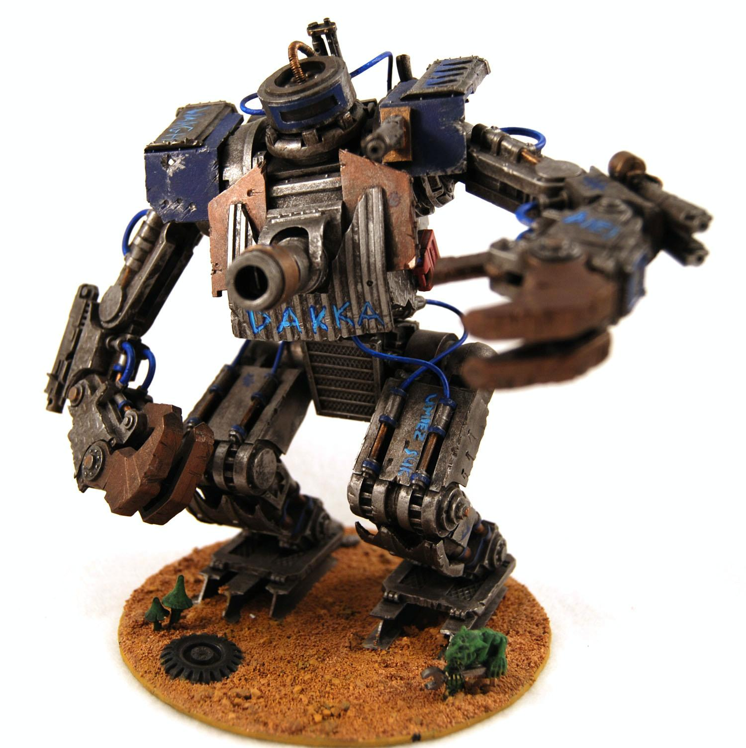 Awesome, Deathskulls, Looted, Orks, Plasticard, Scratch Build, Stompa, Waaagh, Warhammer 40,000