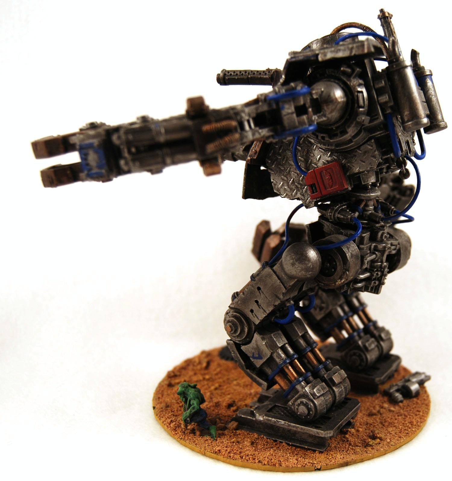 Deathskulls, Defiler, Looted, Orks, Plasticard, Scratch Build, Stompa, Warhammer 40,000