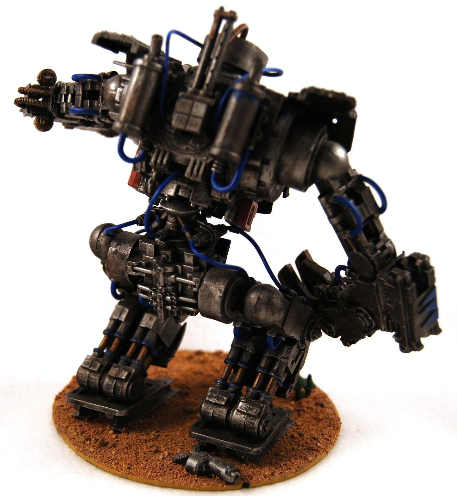 Deathskulls, Looted, Orks, Plasticard, Scratch Build, Stompa, Warhammer 40,000