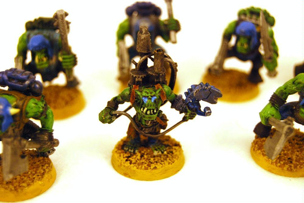 Burna Boyz, Deathskulls, Kustom Force Field, Lootaz, Looted, Mekboy, Orks, Waaagh, Warhammer 40,000