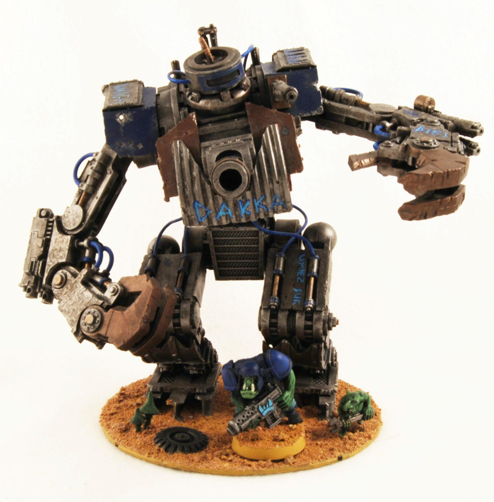 Apocalypse, Awesome, Battlewagon, Chaos, Conversion, Cool, Deathskulls, Defiler, Looted, Looted Wagon, Orks, Plasticard, Scratch Build, Stompa, Waaagh, Warhammer 40,000