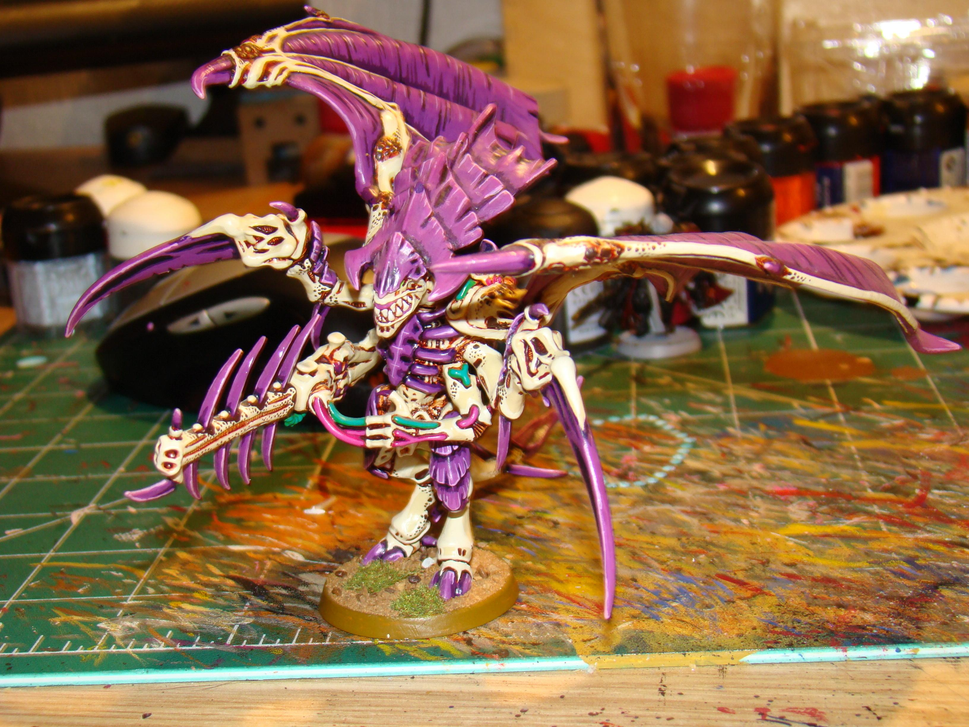 Conversion, Hive Tyrant, Pink, Tyranids, Winged