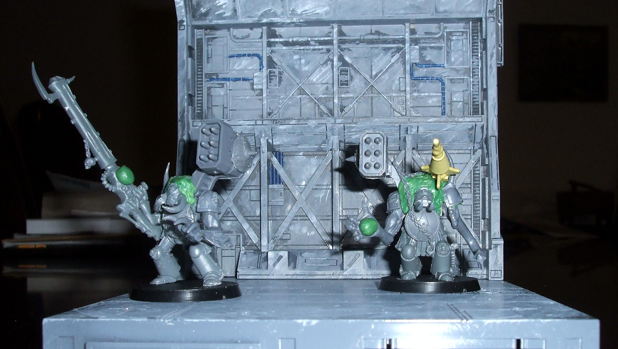 Khorne, Obliterators, Terminator Armor