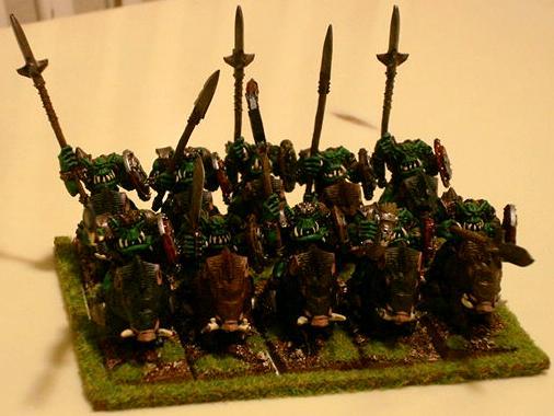 Orks, Orc Boar Boyz