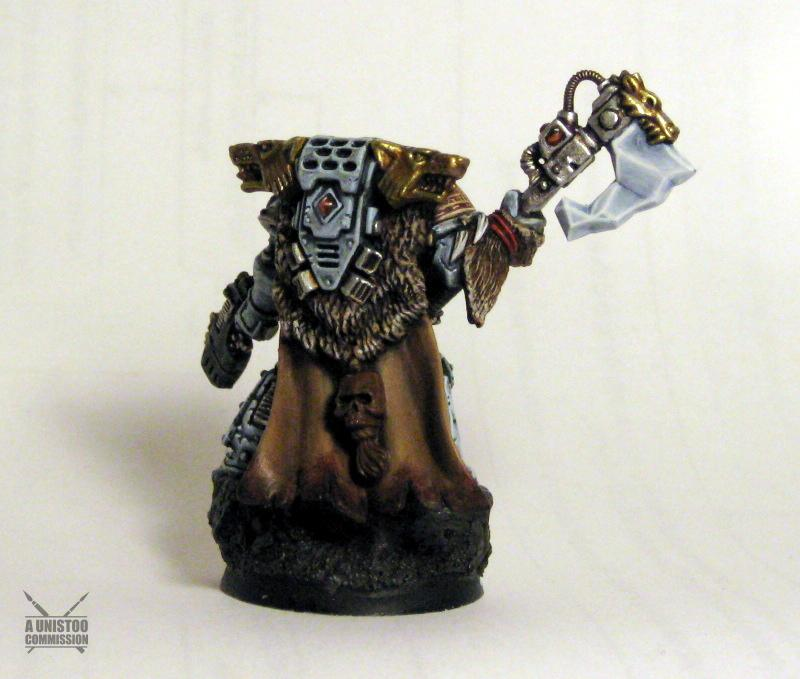 Bits, Conversion, Headquarters, Lord, Space, Space Marines, Warhammer 40,000, Wolves