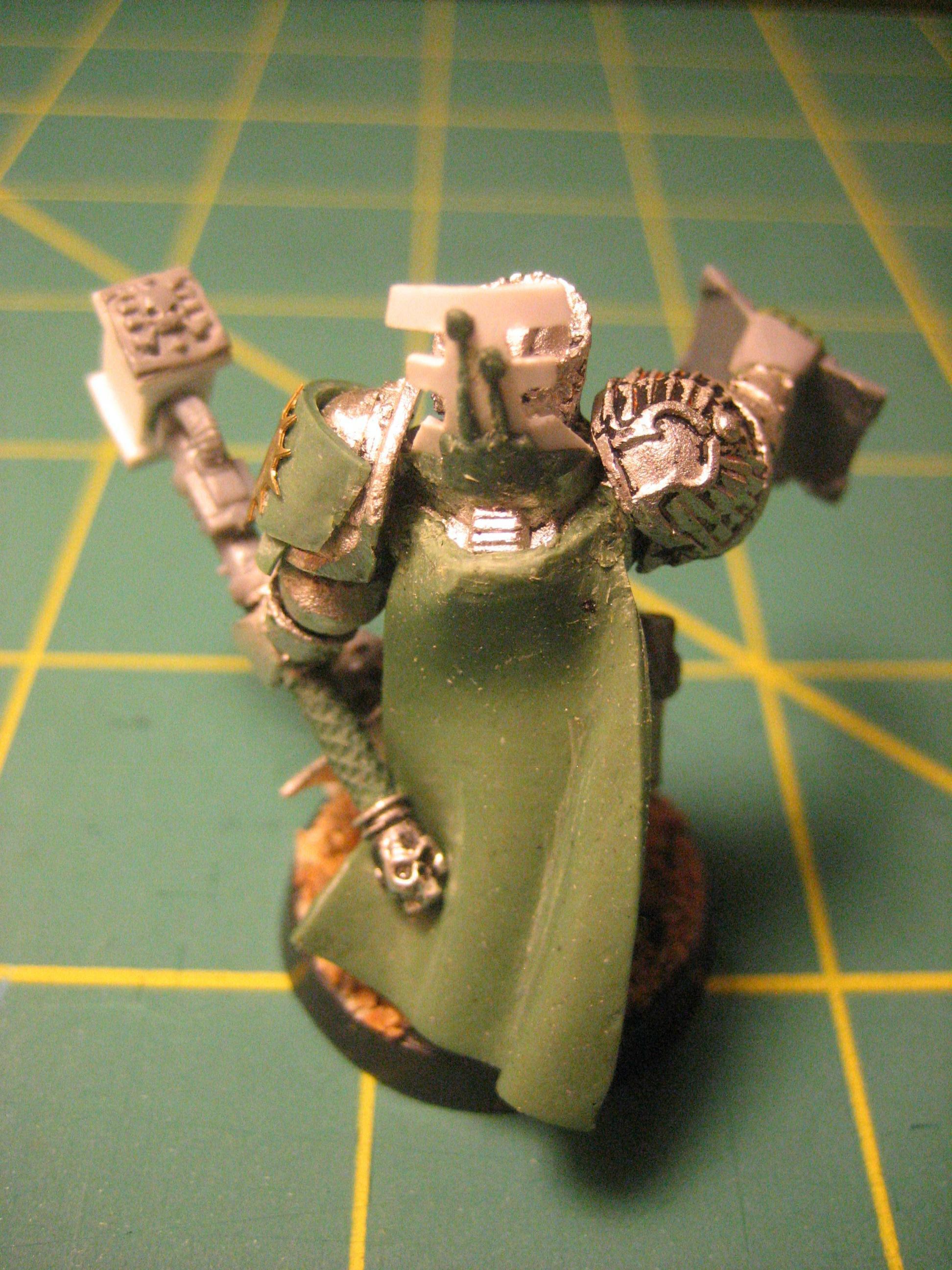 Greenstuff, Inquisitor, Warhammer 40,000, Work In Progress
