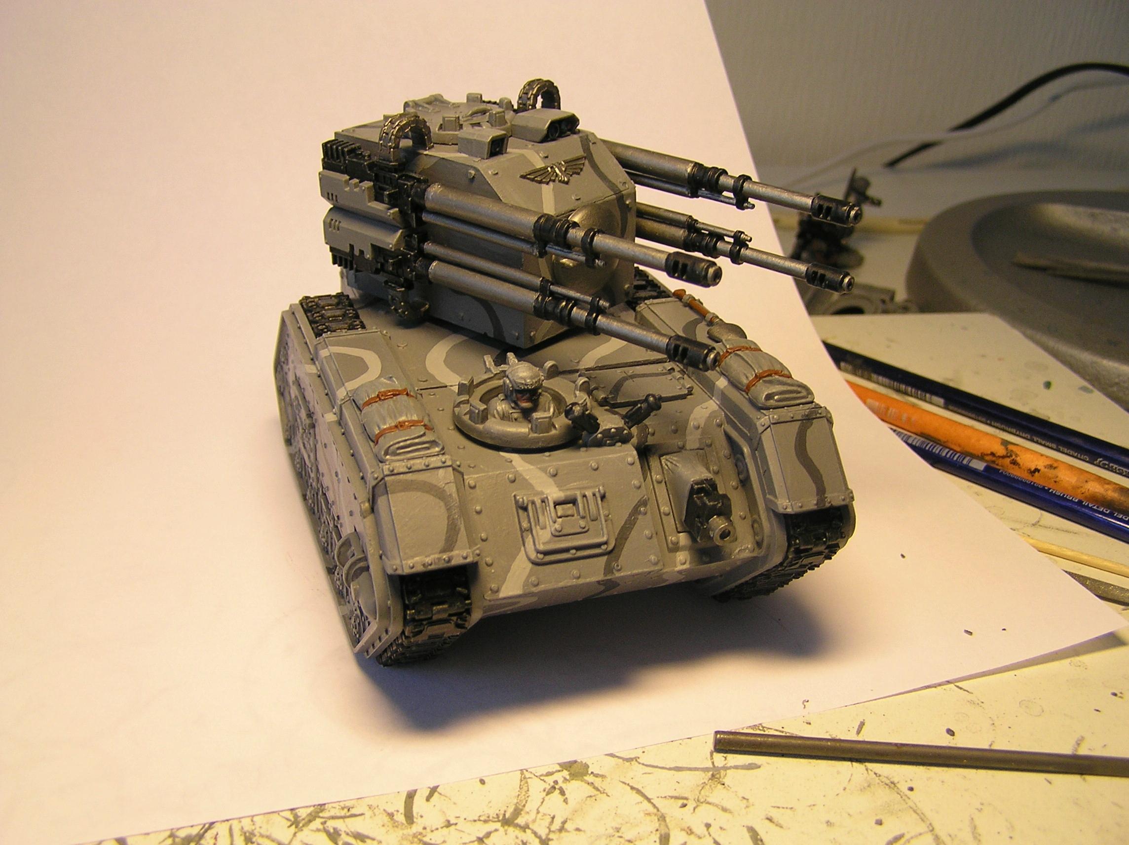 Conversion, Hydra, Imperial Guard, Scratch Build