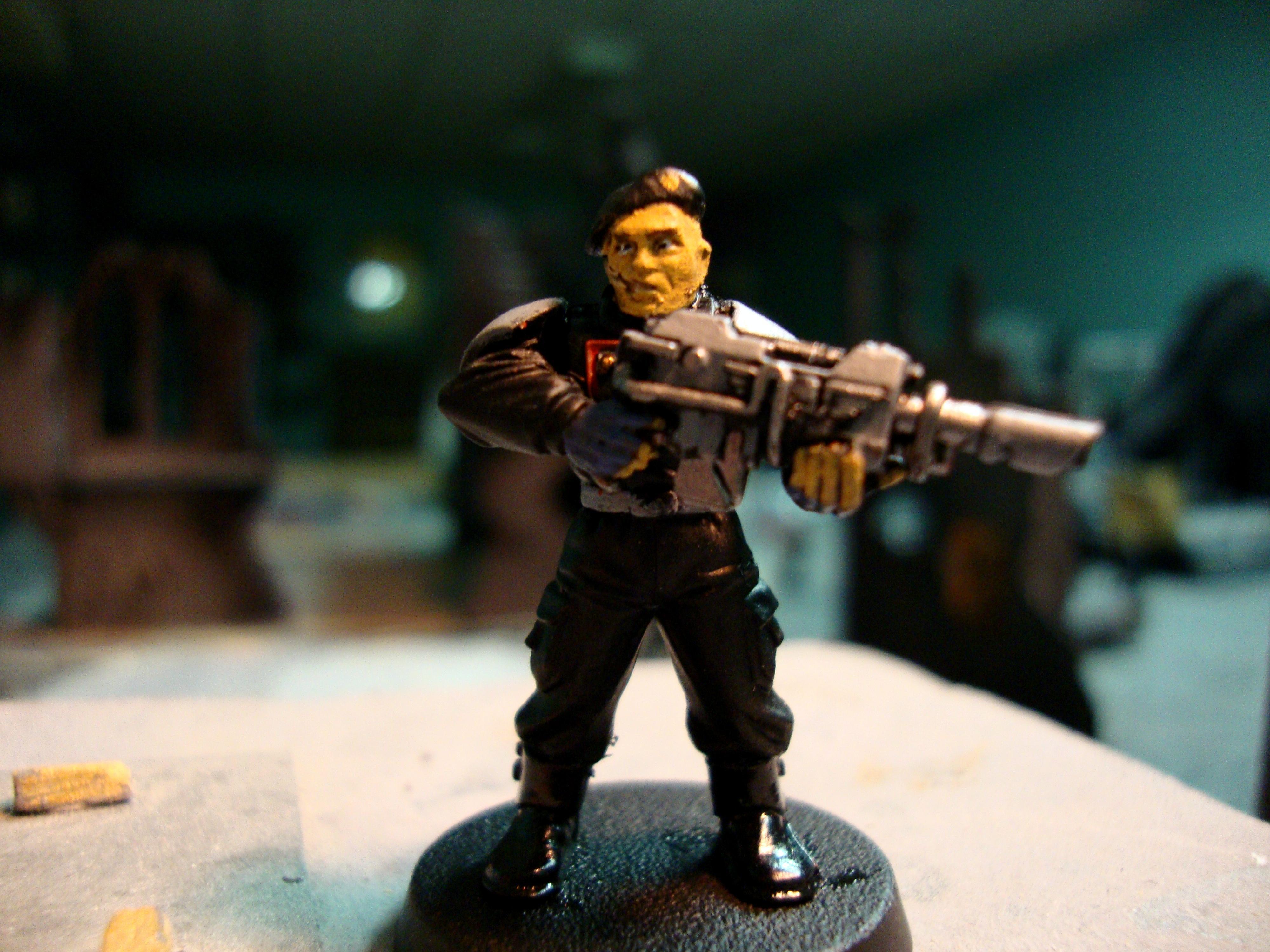 Imperial Guard, Tank Crewman, Warhammer 40,000