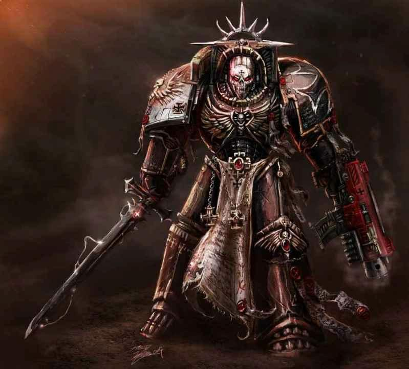 Black, Space, Space Marines, Templar