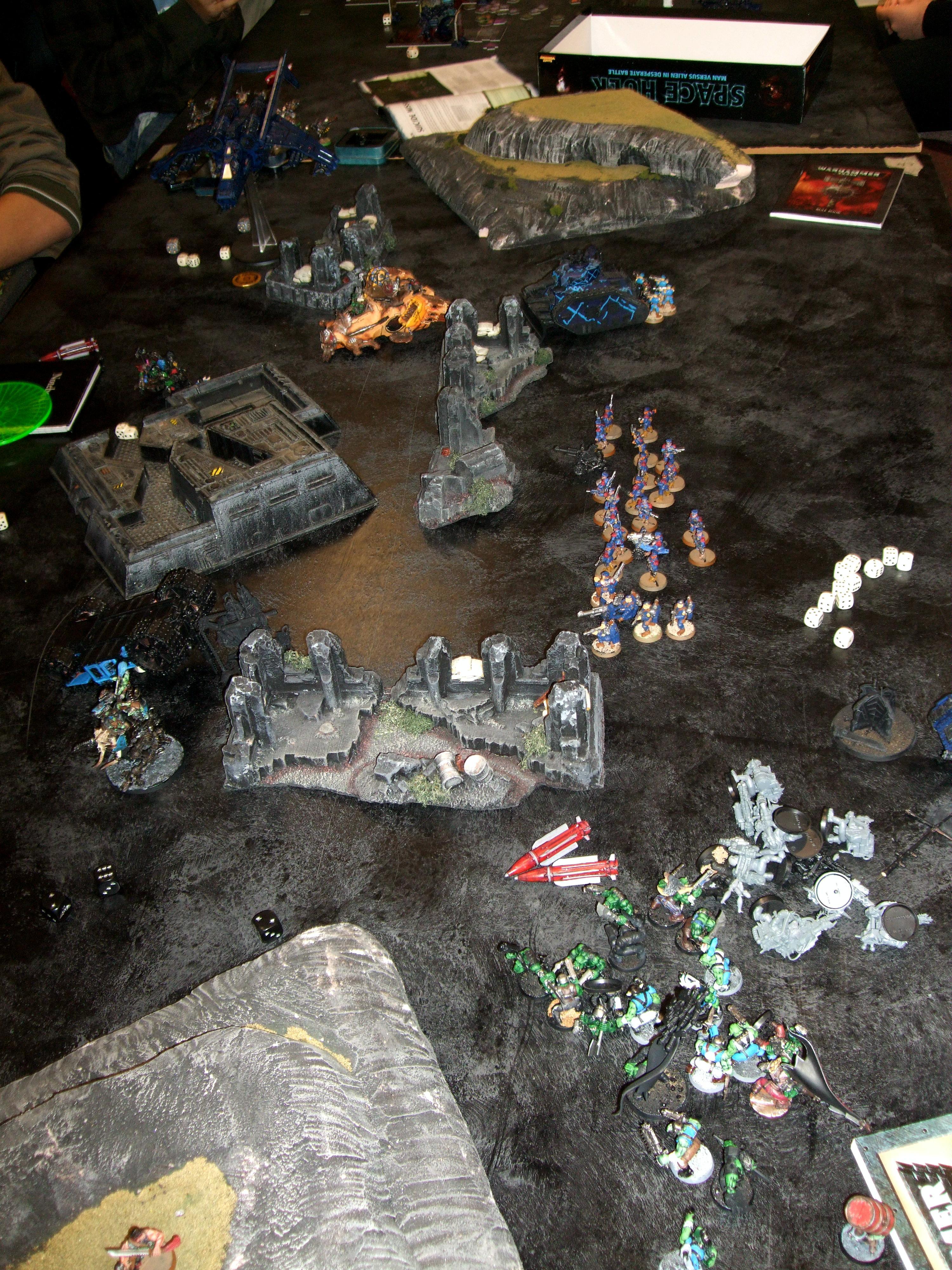 Battle Report, Doubles, Imperial Guard