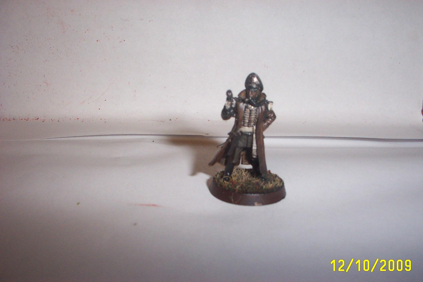 Commissar, Death Korps of Krieg, Forge World, Imperial Guard, Warhammer 40,000