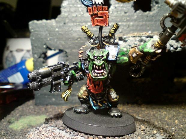Orks, Blood Axes Waaghboss