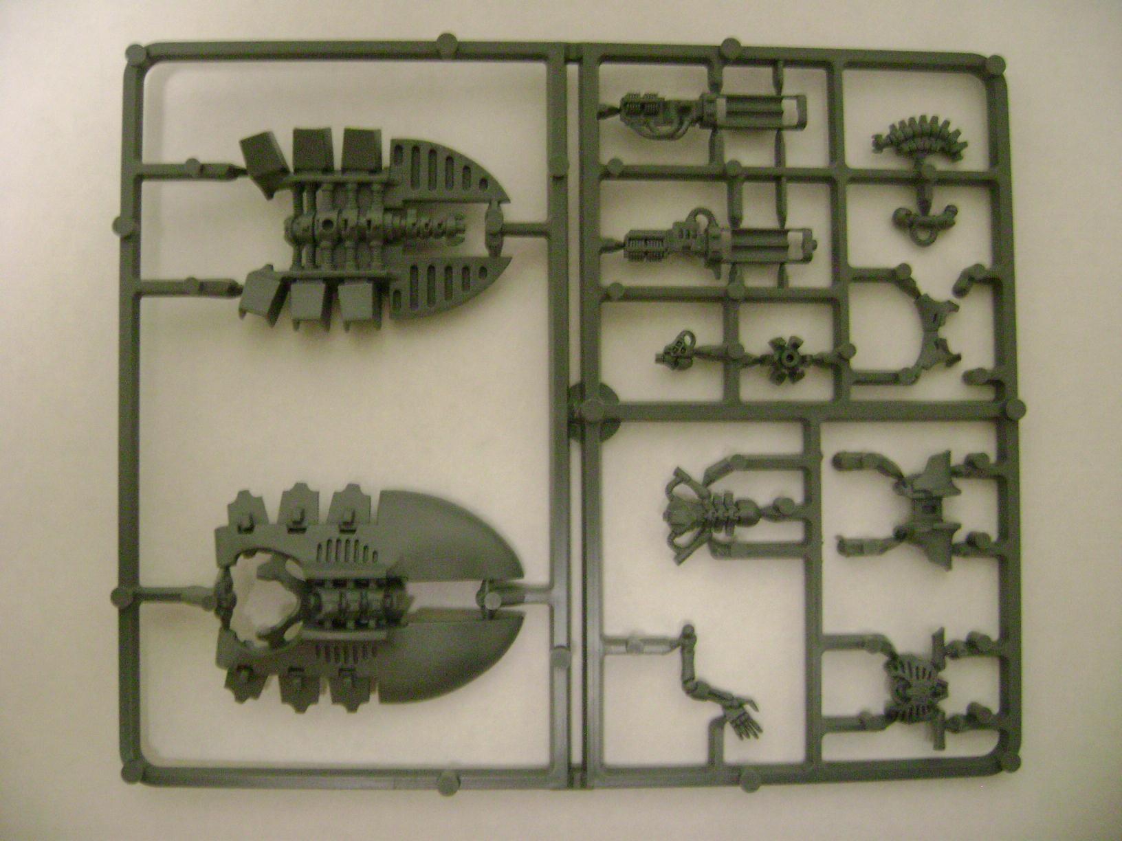 Destroyer, Necrons, Sprue, Warhammer 40,000