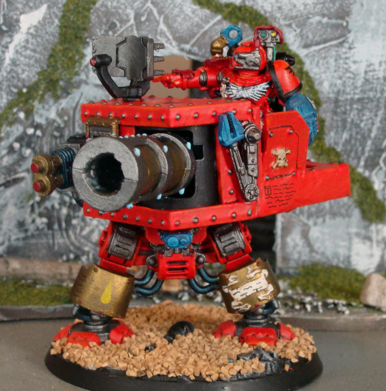 Blood Angels, Dreadnought, Space Marines, Tech Marine