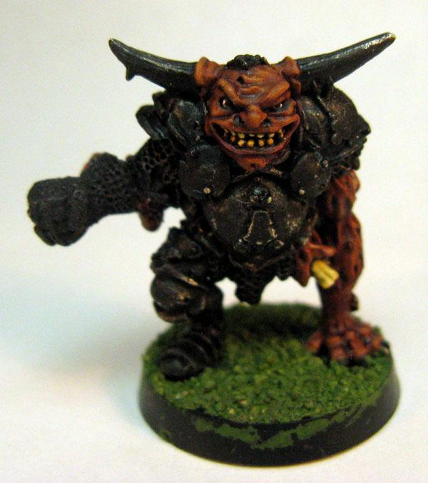 Blood Bowl, Chaos, Chaos Warrior, Nurgle, Warriors