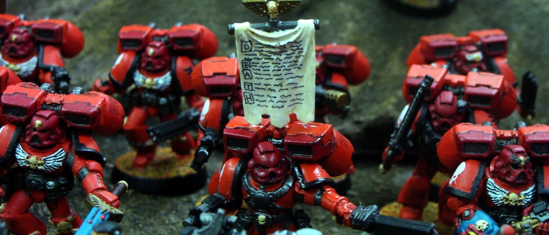 Blood Angels, Freehand, Kirasu, Space Marines, Warhammer 40,000