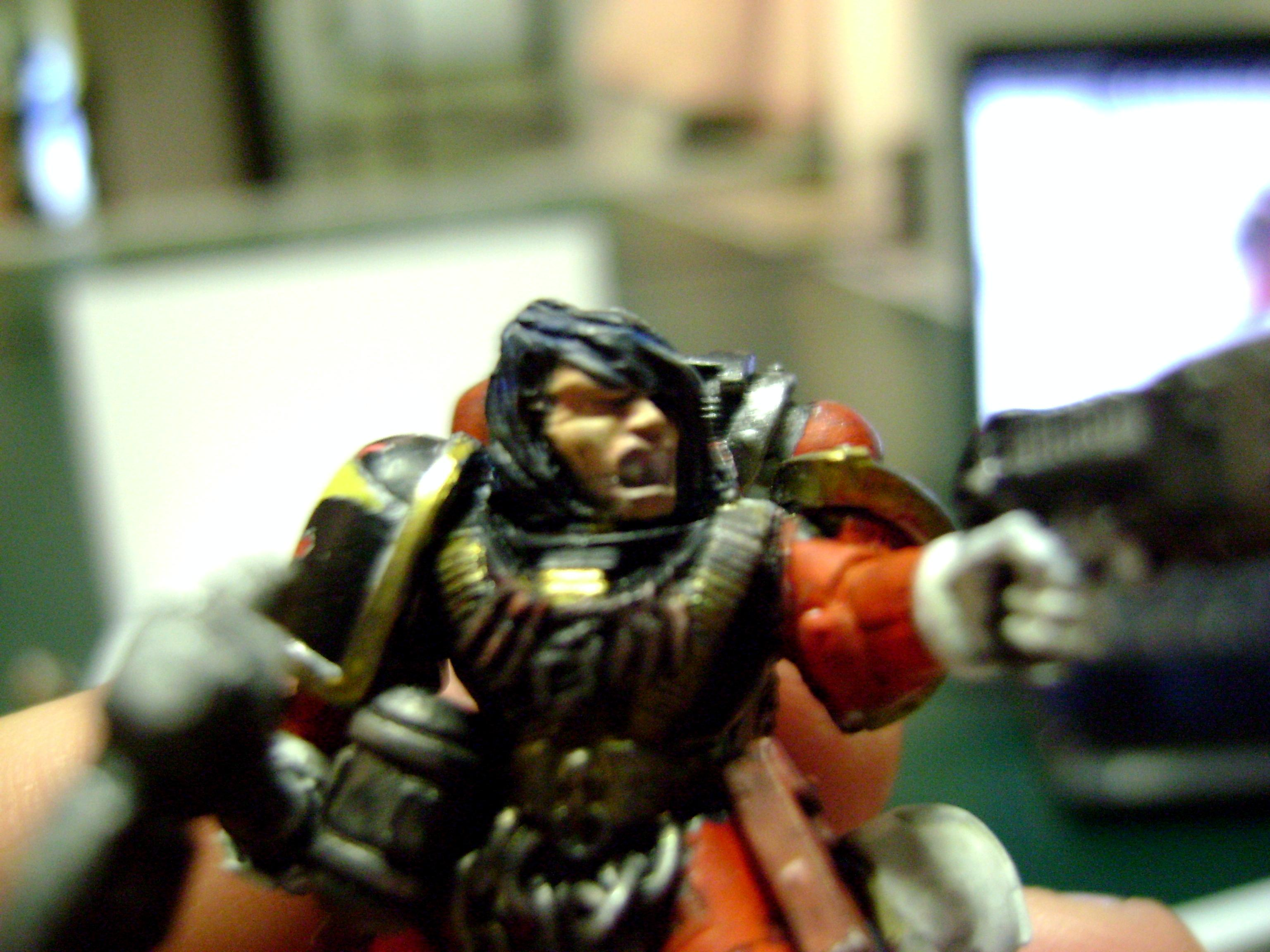 sgt. Hector close up