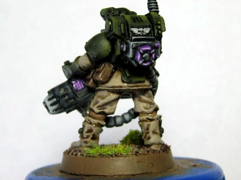 Imperial Guard, Stormtrooper with plasma gun