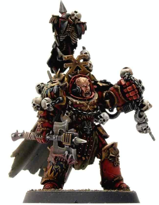 Chaos, Logan Grimnar, Skull, Terminator Armor, Warhammer 40,000