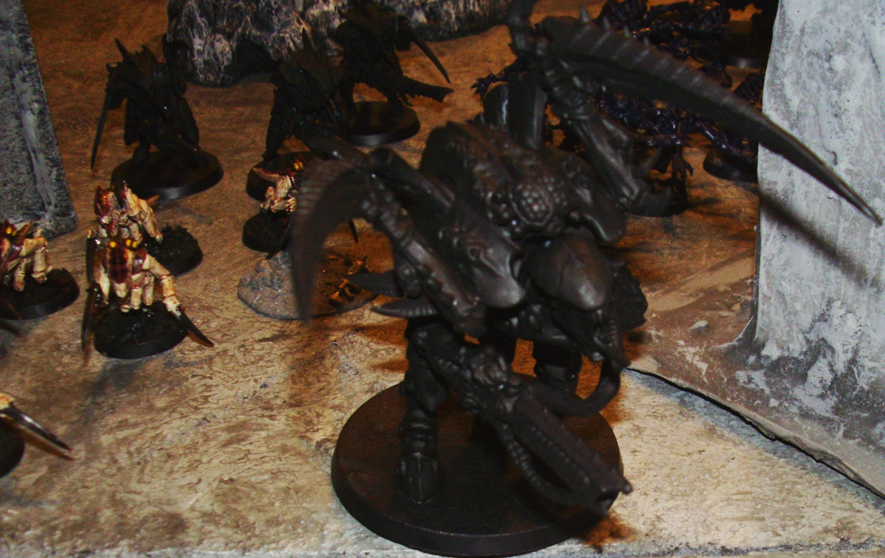 Carnifex 1 of 2 with genestealers behind