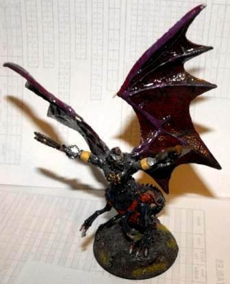 Chaos, Daemon Prince, Tzeench, Warhammer 40,000