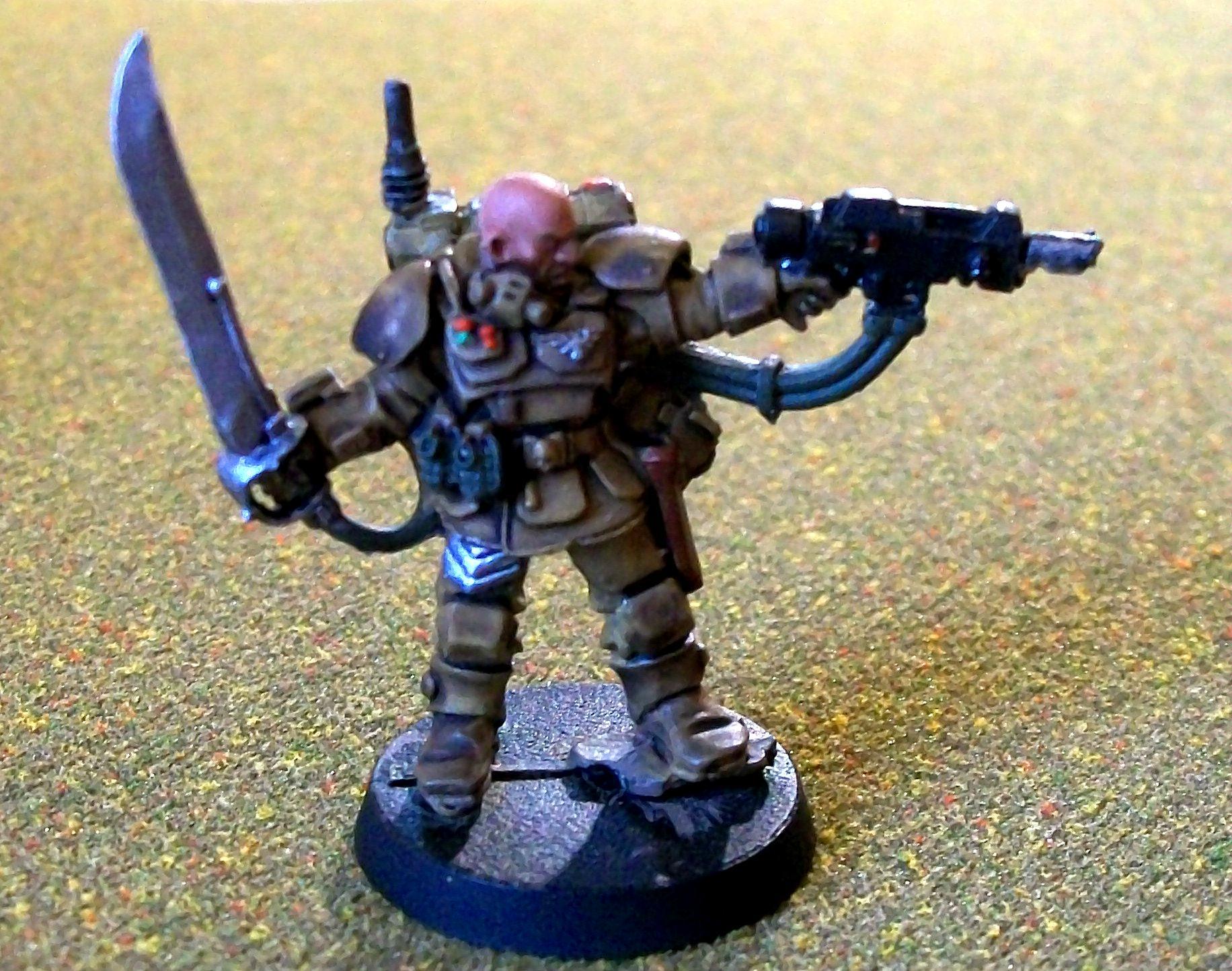 Astra Militarum, Guard, Imperial, Karskin, Pistol, Scion, Stormtrooper, Veteran